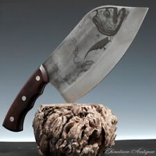 Meat Cleaver Chopping Knife Kitchen knife High Manganese Steel Wrought Iron#5275