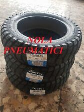 N°3 Pneumatici 100/90-10 56j Deli Tyre Musso tacchettate 4pr Ape 50 Dot2018