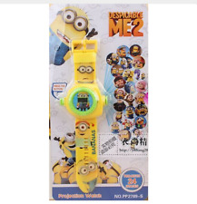 Projection watch projector Reloj proyector MINIONS DESPICABLE ME 24 imágenes