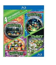 TEENAGE MUTANT NINJA TURTLES 4 FILM COLLECTION BLU RAY 4 DISC SET