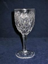 """St Saint Louis Crystal FLORENCE American Burgundy or Red Wine Glass 6 1/2"""""""