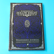 Hollow Knight Wanderer's Journal Official Strategy Guide Lore Art Book Switch