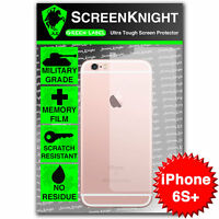 """ScreenKnight Apple iPhone 6S Plus 5.5"""" BACK SCREEN PROTECTOR invisible shield"""