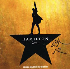 Hamilton Original SIGNED Recording CD by Lin-Manuel Miranda Broadway COA