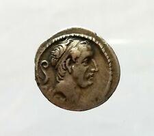 L. MARCIUS PHILIPPE  -56 ROME - Denier en argent