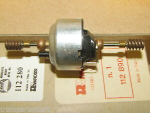 O SCALE FM MOTOR DUAL SHAFT & WORMS PART #'S 112 890 & 112 280 AHM RIVAROSSI NEW