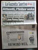GAZZETTA DELLO SPORT 19 ottobre 1997. CICLISMO BARTOLI VINCE COPPA DEL MONDO