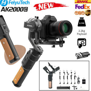 FeiyuTech AK2000C 3 Axis DSLR Stabilizer Gimbal Foldable Release Plate fr Camera