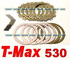 DISCHI FRIZIONE TOP YAMAHA T-MAX 530 COMPLETI + MOLLE RINFORZATE  9930880