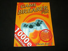 Game Breaker PSX - Cheats Vol. 5 - für über 600 Titel