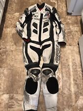 AGV Astra Leather Race Suit Size 46/56 - Worn in MotoAmerica