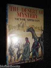 The Desert of Mystery - Victor Appleton - c1950s - 1st UK - Children's Adventure