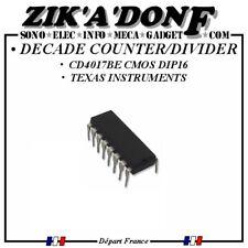 CD4017 CD4017BE compteur/diviseur counter/divider DECADE CMOS DIP16