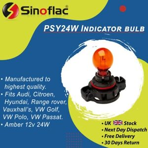 PSY24W Standard Indicator replacement bulb Amber Orange Vauxhall Astra Light