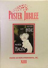 Poster Jubilee Auction Catalog 1991 PAI-XIII Pathe Hagen Schnackenberg Rennert