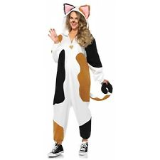 Cat Costume Adult Kigarumi Funsie Pajamas Halloween Fancy Dress