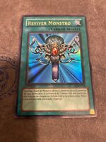 Yugioh FOREIGN Monster Reborn LOB-118 Ultra Rare 1st Edition NM