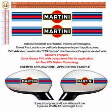 Martini adesivi fasce specchietti auto Sticker cropped band Wing Mirror 2 pz.