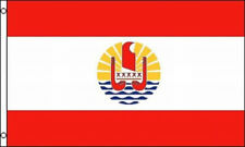 Flag of French Polynesia 3x5 ft National Banner Pacific Island Tahiti France