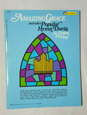 All organ - Amazing Graze and other popular hymn duets organ/piano