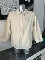 jolie veste mi saison blanche LACOSTE taille 4 (L)   EXCELLENT ÉTAT
