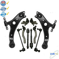 10 Pcs Front Suspension Kit Control Arm Ball Joint For Toyota Camry 2002 2006
