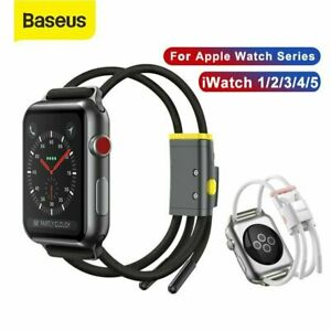 Baseus 38/40/42/44mm Sports Watch Band Strap Rope For Apple Watch iWatch 3 4 5 6