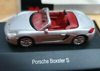Porsche Boxster S Grigio Chiaro - Scala HO 1:87 - Schuco 26108 - Nuova