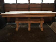 Farm Dining Table New, Made Handmade, Any Color you choose, Bench is seperate