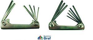 Hawe Stiftschlüsselsatz in Folding Set, Torx T9-T40 or Hexagon Socket 2,5 -8 MM