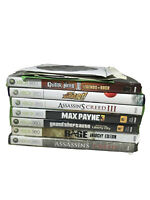 Lot Of 12 Xbox 360 Games Tested GTA, Assassins Creed, Race, Max Payne3, Forza