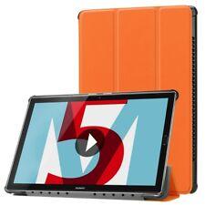 Cubierta Elegante Naranja Bolso Funda para Huawei Tablet Media M5 10.8 Estuche