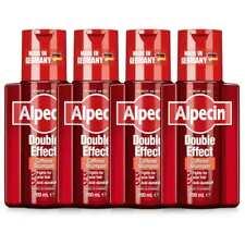 4 x Alpecin Double Effect Caffeine Shampoo - Anti-dandruff - Scalp Support 200ml