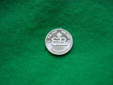 More details for edward viii 1937 silver proof pattern monogram threepence
