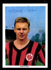 Richard Weber Autogrammkarte Eintracht Frankfurt Spieler 60er Jahre Original Sig