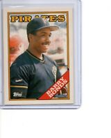 1988 Topps Tiffany #450 Barry Bonds Pittsburgh Pirates