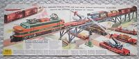 """Old Lionel GREAT NORTHERN catalog excerpt """"Poster"""" from Brochure, 2358, Missile"""