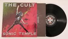 VINILO THE CULT SONIC TEMPLE LP 1989 ¡MAGNÍFICO ESTADO!