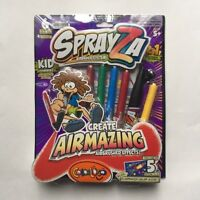 Sprayza Airbrush Activity Kit ,  no batteries required create airmazing effects