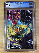 Iron Fist Heart of the Dragon #1 (2021 Marvel Comics) Alien Varaint CGC 9.8