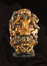 Dali tête énorme sculpture bronze érotique, sexe, Geil, amour, personnage, acte, pénis