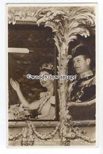 r1366 - Queen Elizabeth & Duke of Edinburgh - Coronation Souvenir postcard