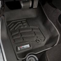 Jeep Wrangler 2007 - 2013 Wade Sure-Fit Floor Mats Liners Front - Black