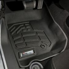 Jeep Wrangler 2007 - 2013 Wade Sure-Fit Floor Mats Liners Front - Black