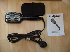 BaByliss Diamond Heated Smoothing & Straightening Brush With 3 Settings