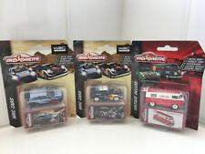 3 X Majorette Cars WRC T. Neuville & S. Ogier / J. Ingrasssia Plus Volkswagen T1