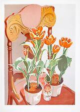 Sondra Freckelton: Tulips, 1977. Signed, Numbered, Fine Art Print.