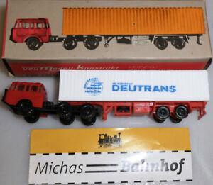 Deutrans Truck White Tractor Interracial Tatra Budamobil TT 1:120 Uf Å