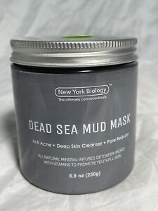 New York Biology Dead Sea Mud Mask for Face and Body - Spa Quality Pore Reducer