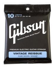 """GIBSON VINTAGE REISSUE LIGHT E-GITARREN SAITEN ST�""""RKE .010 - .046 SOUND DER 50ER"""